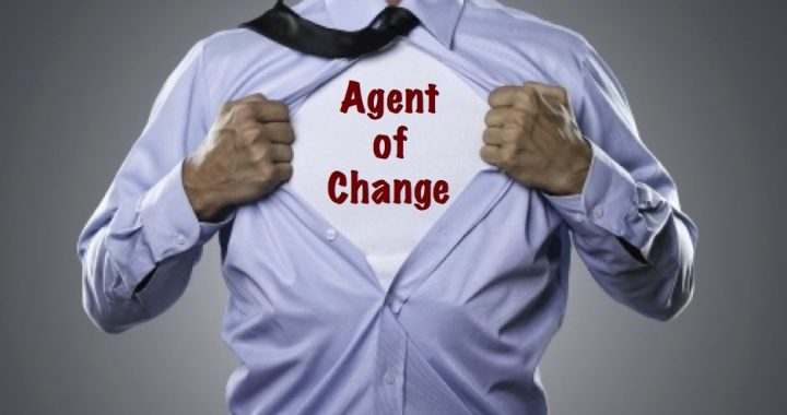 Agent of Change Itu Inisiatif
